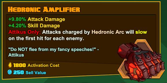 Attikus - Hedronic Amplifier