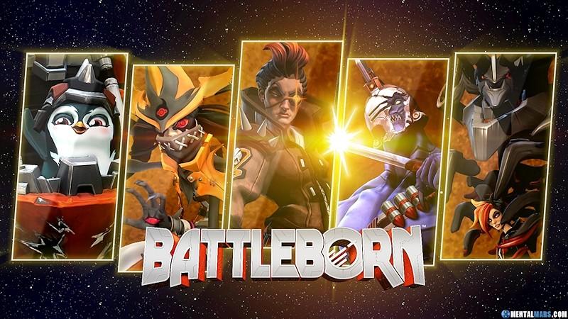 Battleborn Team Rogue Wallpaper