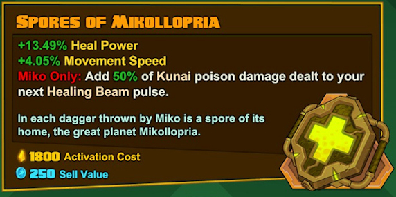 Miko - Spores of Mikollopria
