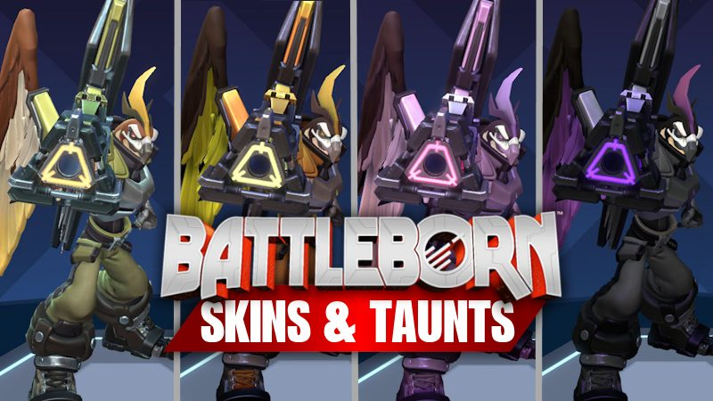 Battleborn Skins and Taunts