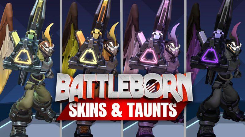 Battleborn Skins and Taunts