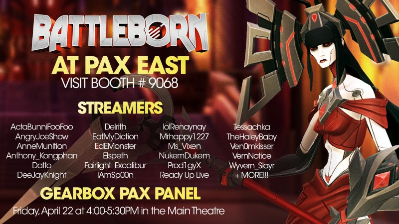 PAX East 2016 – Battleborn Booth Recap with StealthShampoo!