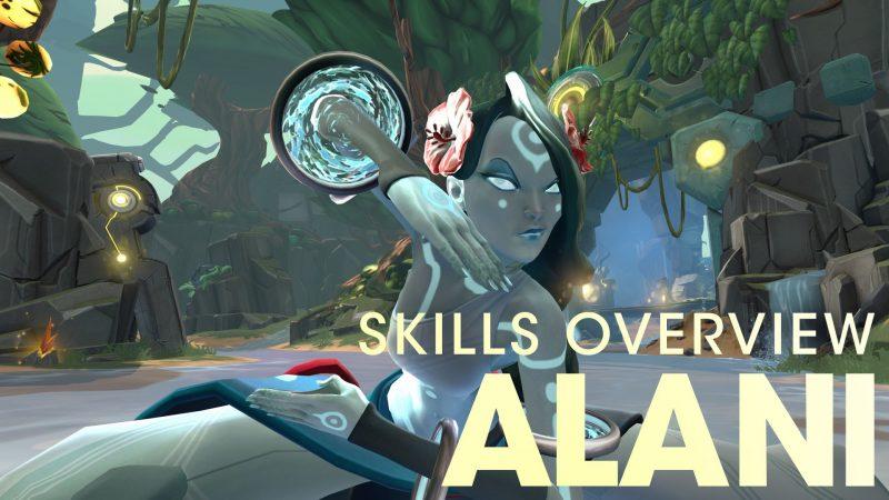Alani Skills Overview - Battleborn