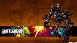 Battleborn Hero Wallpaper - Shayne & Aurox
