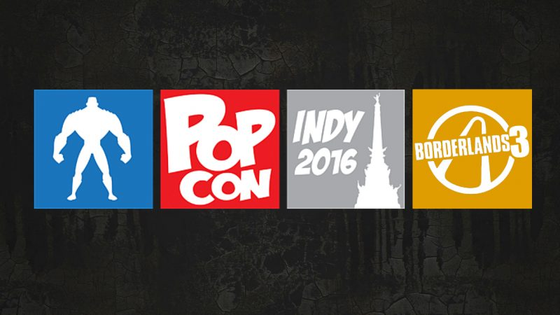 Borderlands 3 indy popcon 2016
