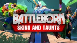 Battleborn summer fun skins & taunts