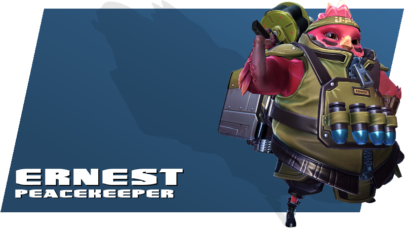 Battleborn - Ernest Peacekeeper