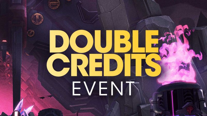 Battleborn Double Credits Event