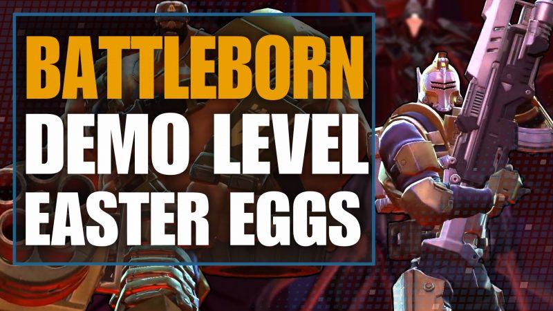 Battleborn Demo lvl Easter Eggs