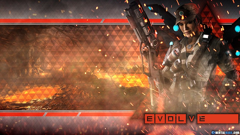 Evolve Wallpaper - Ciara