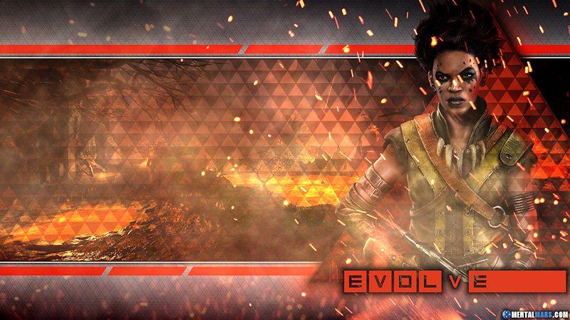 Evolve Wallpaper - Maggie
