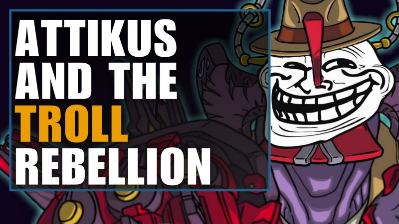 attikus and the troll rebellion