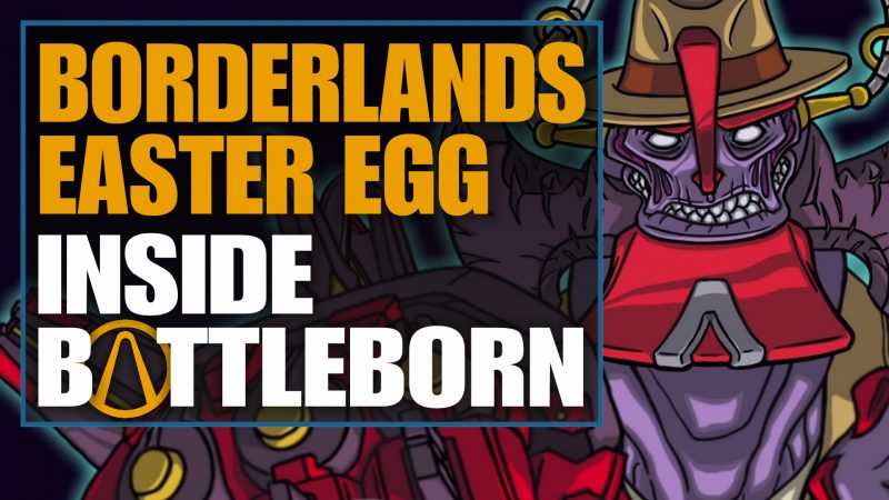 borderlands 3 easter egg inside battleborn