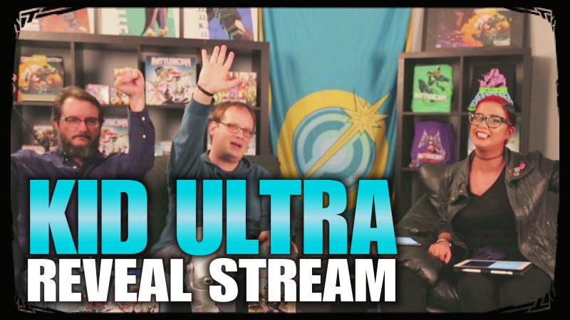 kid ultra reveal stream - battleborn