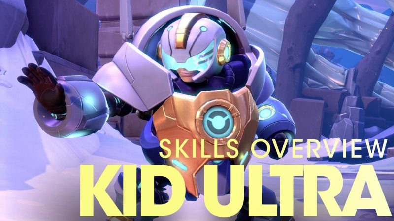 kid ultra skills overview - battleborn