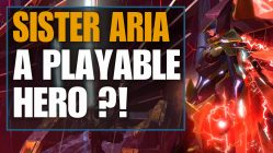 sister aria a playable hero