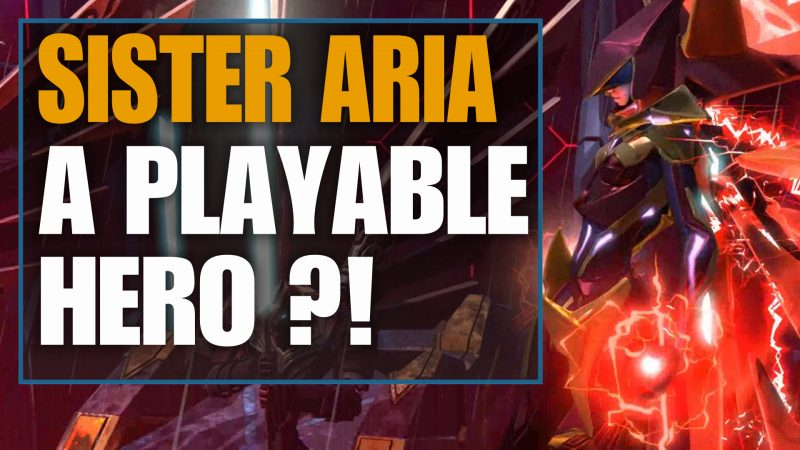 sister aria a playable hero