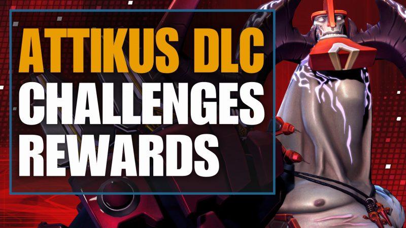 attikus challenges & rewards - battleborn