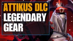 attikus legendary gear - battleborn