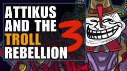 attikus and the troll rebellion - battleborn