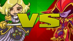 phoebe vs aria - battleborn
