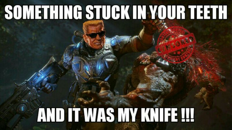 duke nukem vs gears of war