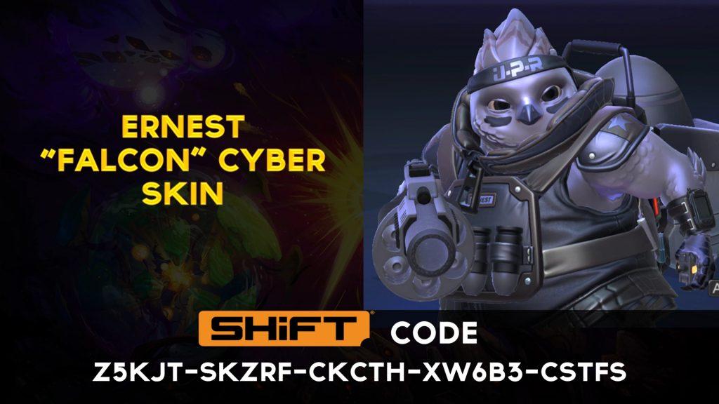 ernest cyber skin - battleborn