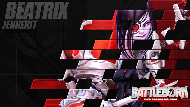 Battleborn Champion Wallpaper - Beatrix
