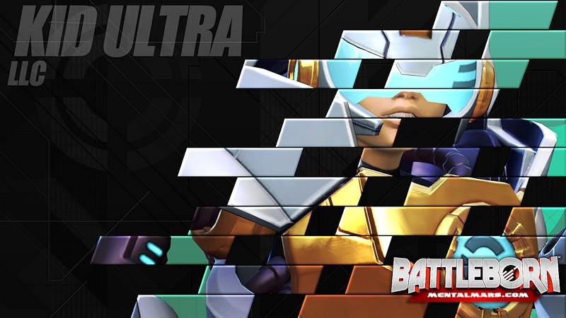 Battleborn Champion Wallpaper - Kid Ultra