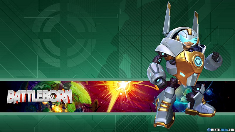 Battleborn Hero Wallpaper - Kid Ultra