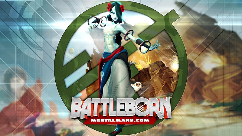 Battleborn Legends Wallpaper - Alani