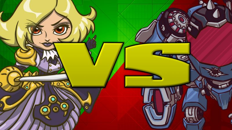 Phoebe vs Lorrian (100 OPS Points) - Battleborn Gameplay Highlight