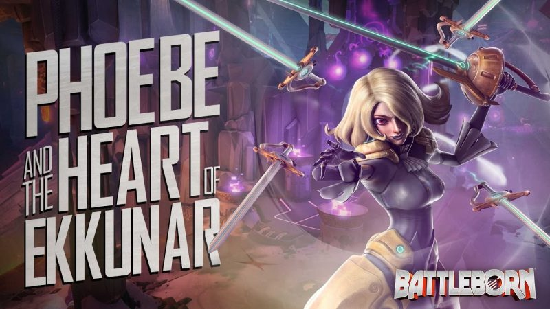 Phoebe and the Heart of Ekkunar - Battleborn