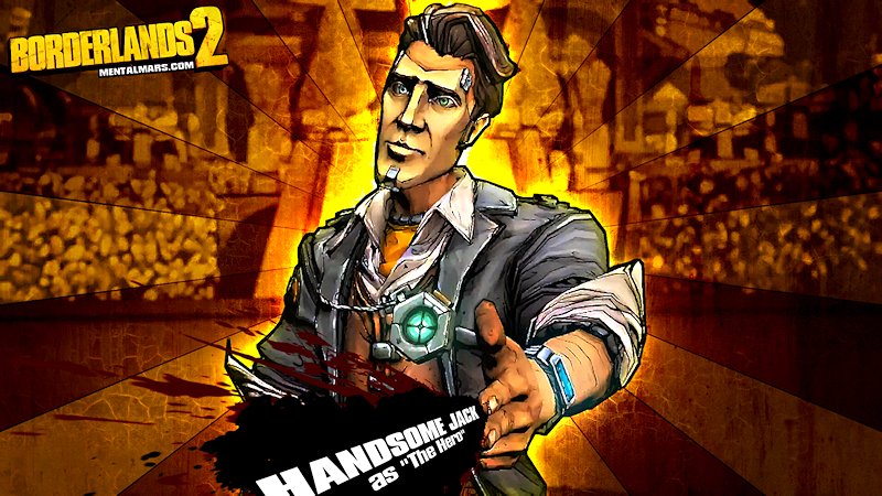 Handsome Jack The Hero Wallpaper Borderlands 2 Mentalmars