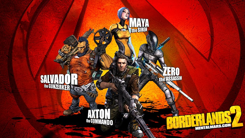 Borderlands 2 Wallpaper - Heroes Pose Again