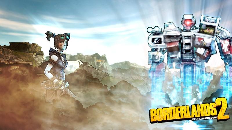 Mechromancer Wallpaper - Borderlands 2