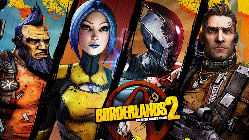 Borderlands 2 Wallpaper - The Four Vault Hunters