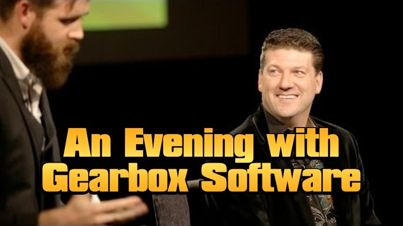 An Evening with Gearbox Software - Borderlands