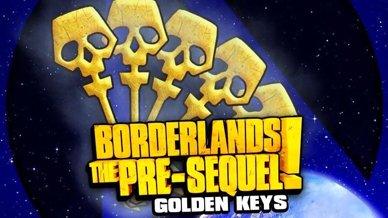 Borderlands the Pre-Sequel Golden Keys Shift Codes