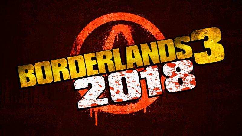 borderlands 3 2018