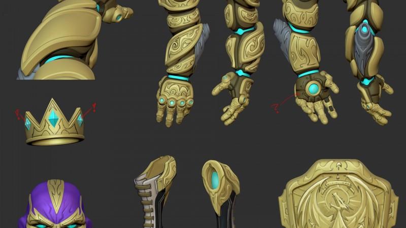 el dragon arm - battleborn
