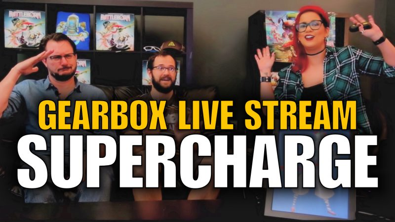 Battleborn Supercharge live stream reveal