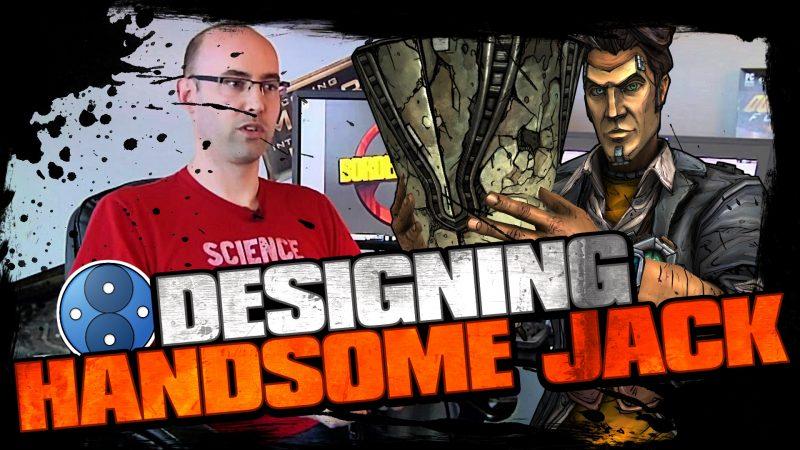 Designing Handsome Jack for Borderlands 2