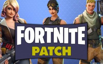 Fortnite Patch Update