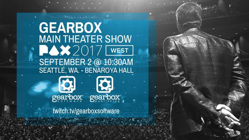 Inside Gearbox Panel at PAX West 2017