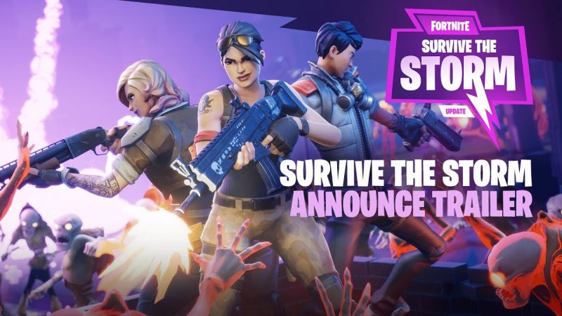 Survive the Storm Update - Trailer