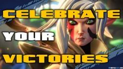 Celebrate your victories - Battleborn