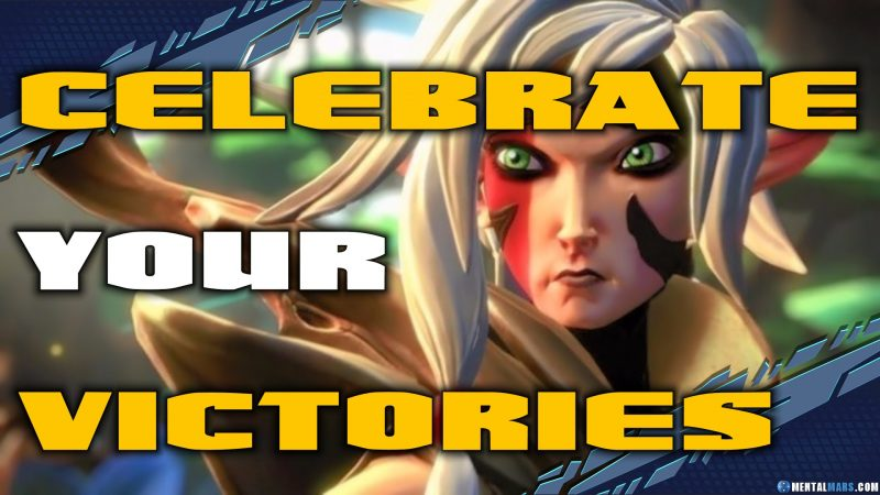Celebrate your victories - Battleborn