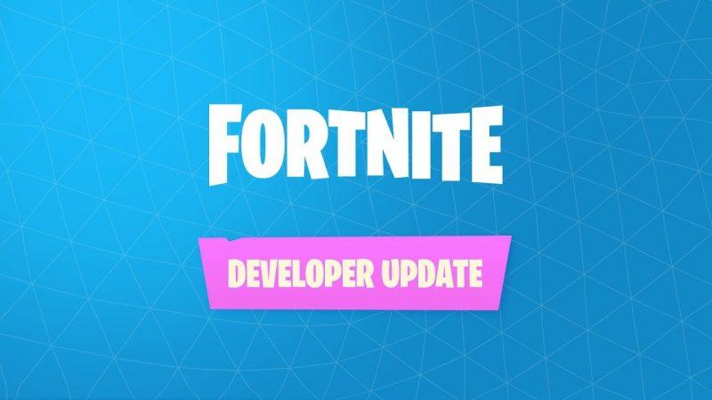 Fortnite Developer Update