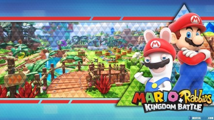 Mario Rabbits Wallpaper - Preview